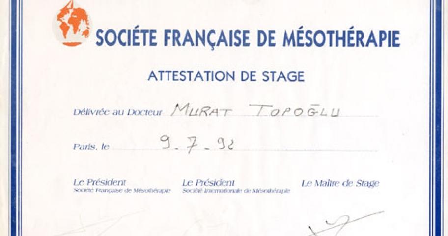 Dr. Murat Topoglu - Diploma 02