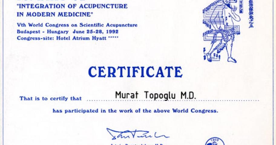 Dr. Murat Topoglu - Diploma 04