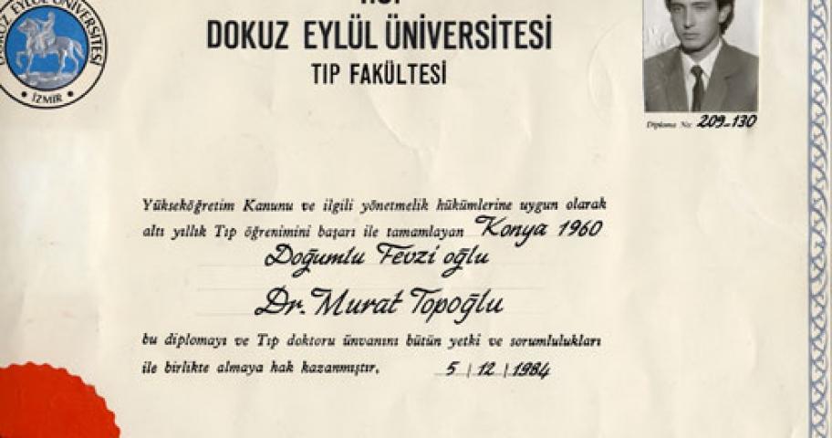 Dr. Murat Topoglu - Diploma 26