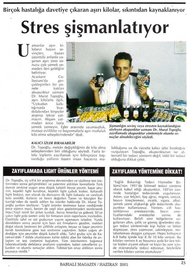Dr. Murat TOPOĞLU Gazete ve Dergi Haberleri - 05