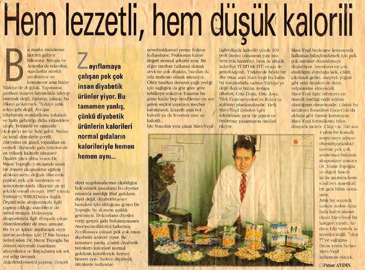 Dr. Murat TOPOĞLU Gazete ve Dergi Haberleri - 07
