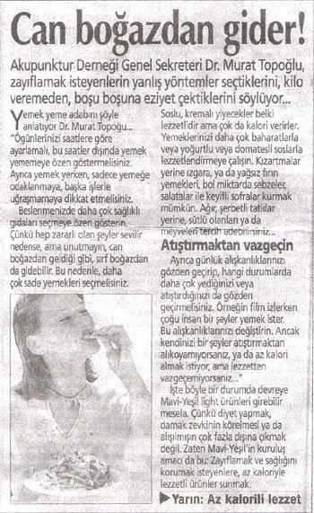 Dr. Murat TOPOĞLU Gazete ve Dergi Haberleri - 10