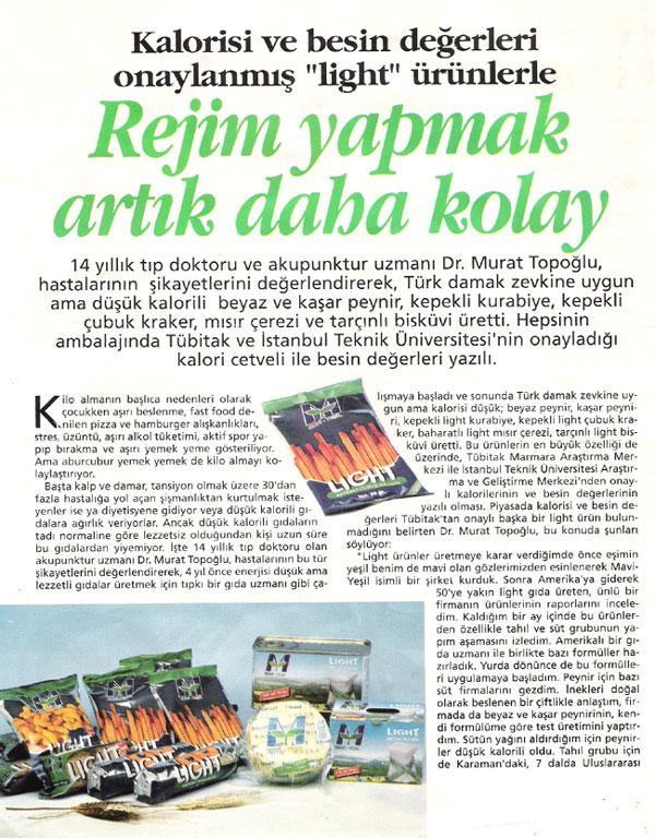Dr. Murat TOPOĞLU Gazete ve Dergi Haberleri - 14