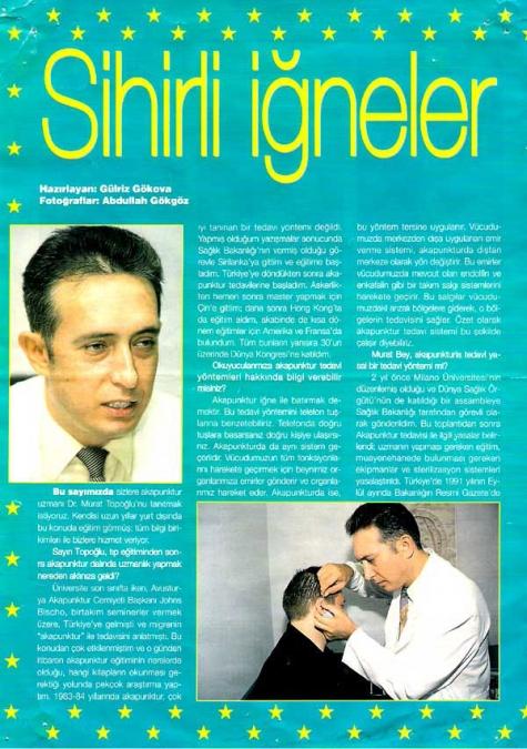Dr. Murat TOPOĞLU Gazete ve Dergi Haberleri - 23