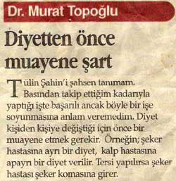 Dr. Murat TOPOĞLU Gazete ve Dergi Haberleri - 28