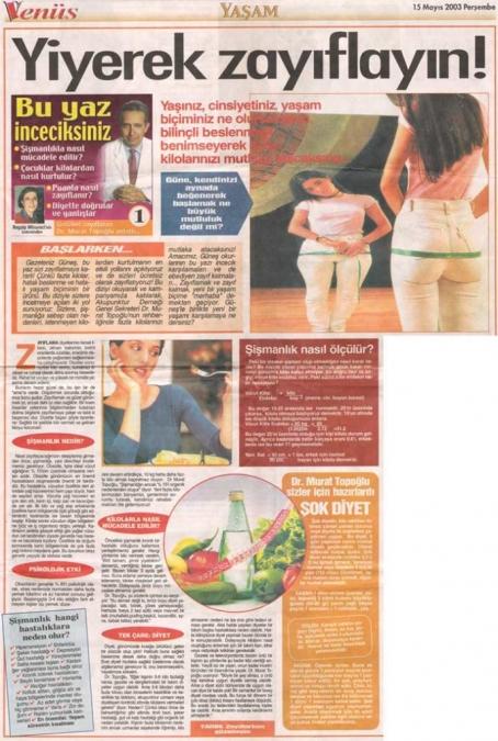 Dr. Murat TOPOĞLU Gazete ve Dergi Haberleri - 36