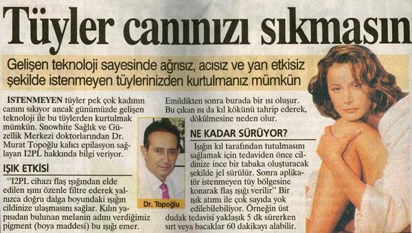 Dr. Murat TOPOĞLU Gazete ve Dergi Haberleri - 39