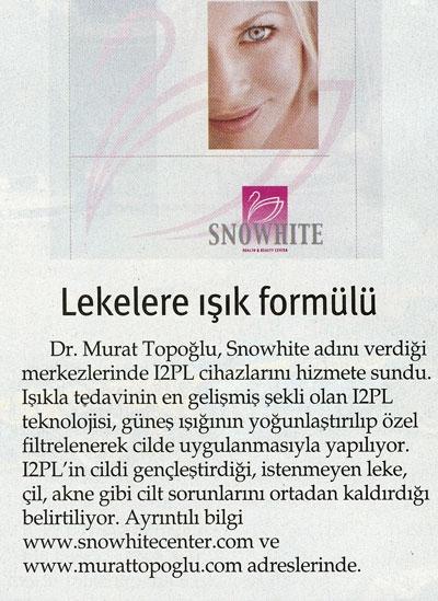 Dr. Murat TOPOĞLU Gazete ve Dergi Haberleri - 44