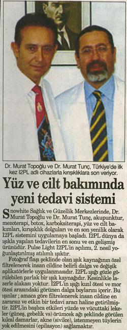 Dr. Murat TOPOĞLU Gazete ve Dergi Haberleri - 48