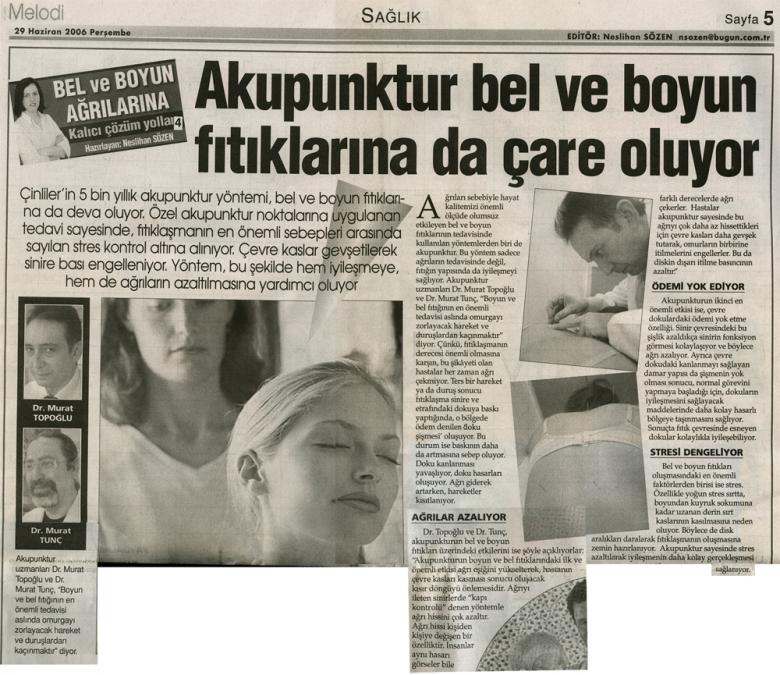 Dr. Murat TOPOĞLU Gazete ve Dergi Haberleri - 50