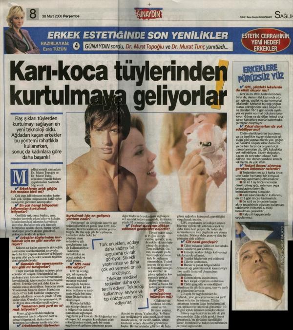 Dr. Murat TOPOĞLU Gazete ve Dergi Haberleri - 51